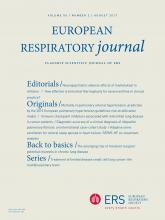 European Respiratory Journal: 50 (2)