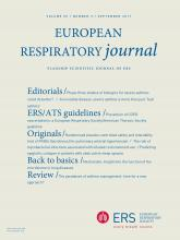 European Respiratory Journal: 50 (3)
