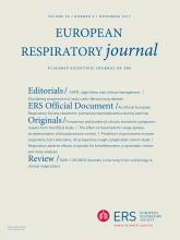 European Respiratory Journal: 50 (5)