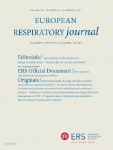 European Respiratory Journal: 50 (6)