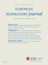 European Respiratory Journal: 51 (4)