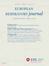European Respiratory Journal: 51 (5)