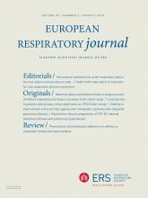 European Respiratory Journal: 52 (2)