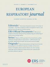 European Respiratory Journal: 52 (5)