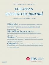 European Respiratory Journal: 53 (2)