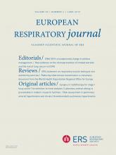 European Respiratory Journal: 53 (6)
