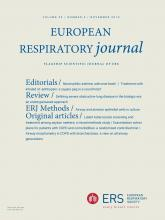 European Respiratory Journal: 54 (5)