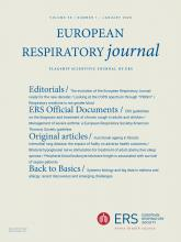 European Respiratory Journal: 55 (1)