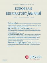 European Respiratory Journal: 55 (2)