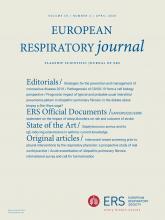 European Respiratory Journal: 55 (4)
