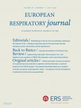European Respiratory Journal: 56 (1)