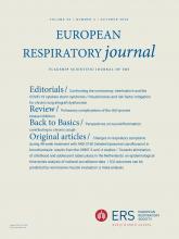 European Respiratory Journal: 56 (4)