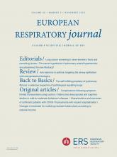 European Respiratory Journal: 56 (5)
