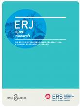 ERJ Open Research: 4 (3)
