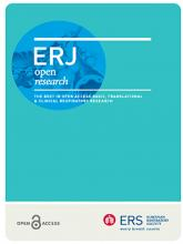 ERJ Open Research: 5 (1)